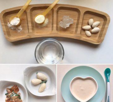 طرز تهیه حریره بادام برای کوچولوهای نازتون