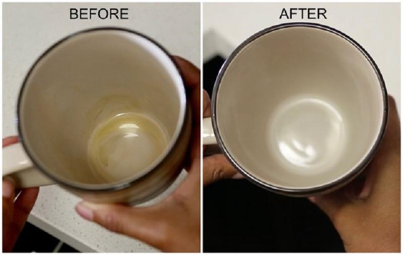 5 3 چگونه لکه قهوه را از ماگ پاک کنیم؟