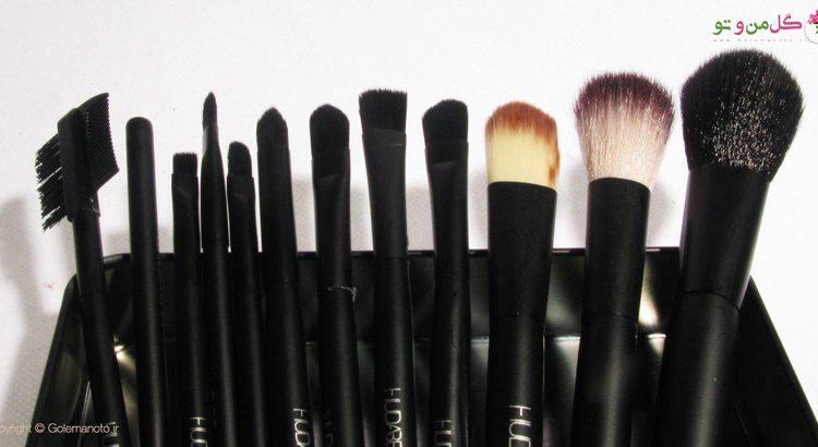 اهمیت شستن براش های آرایشی