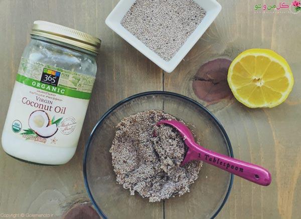 خواص دانه چیا برای پوست - ساخت ماسک چیا
