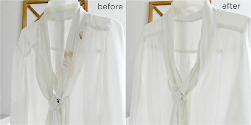 1 7 پاک کردن لکه آرایش از روی لباس