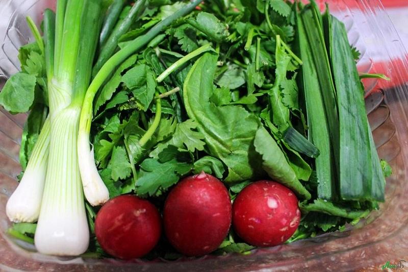 12 1 نحوه نگهداری صحیح سبزی خوردن