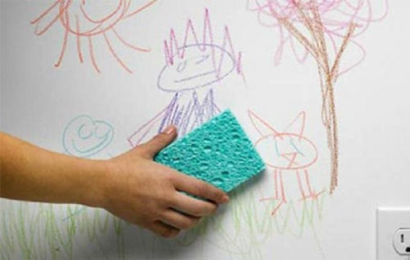12 4 پاک کردن لکه ماژیک دائمی از روی درب و دیوار