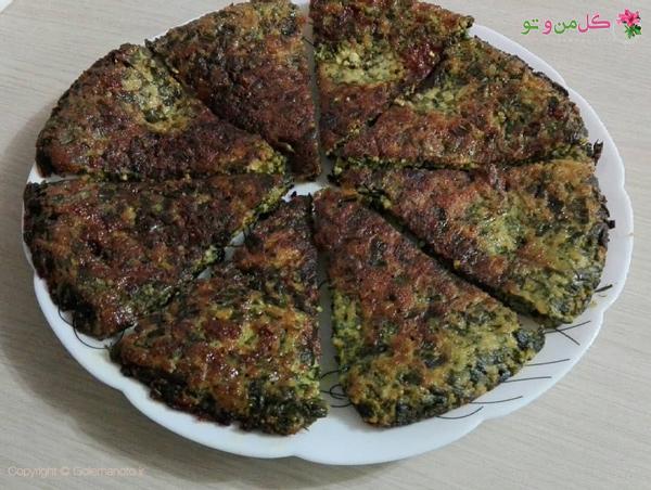 طرز تهیه اشپل کوکو