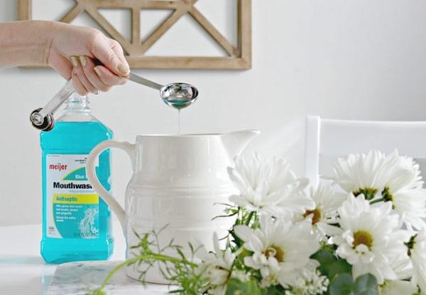 7 4 چهار روش غیر عادی برای استفاده از دهان شویه در خانه