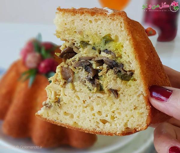 کیک گوشت