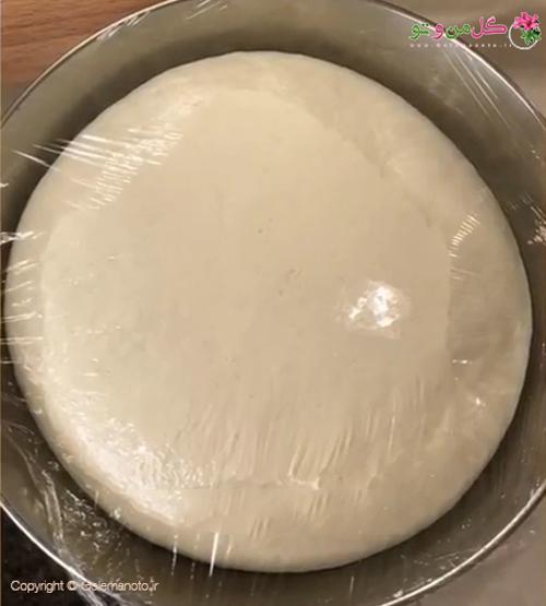 استراحت دادن به خمیر