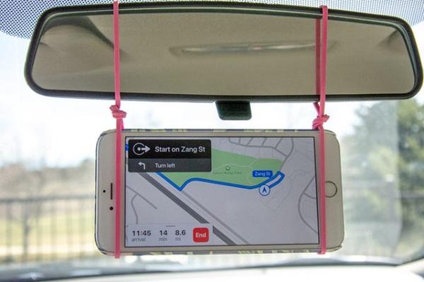 ابزاری برای نگه داشتن گوشی هوشمند