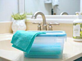 درست کردن دستمال مرطوب قابل استفاده مجدد و غیرسمی