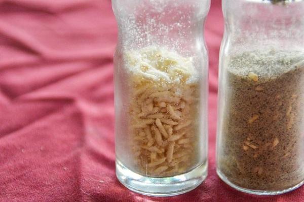 از به هم چسبیدن نمک جلوگیری کنید