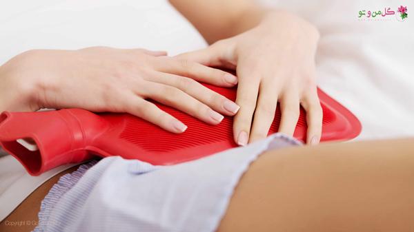 استفاده از کیسه آب گرم برای درد قاعدگی