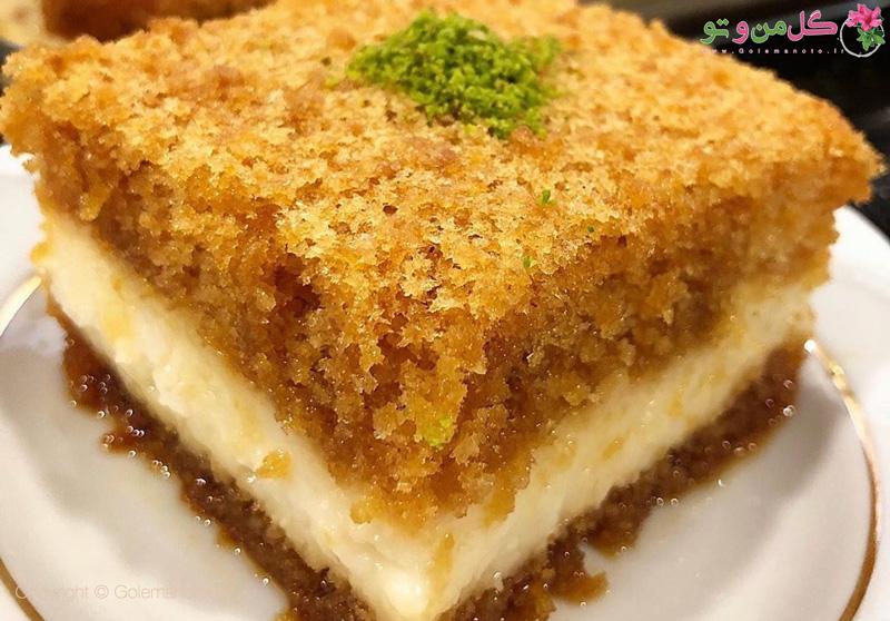 طرز تهیه کیک کاراملی کرم دار ترکیه