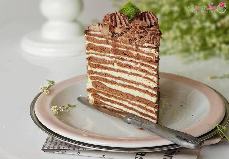 طرز تهیه کیک روسی عسلی