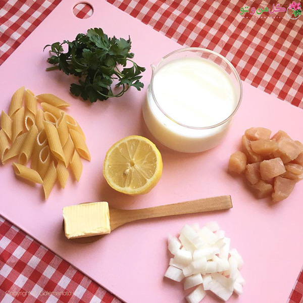 مواد لازم برای تهیه پاستا نوزاد