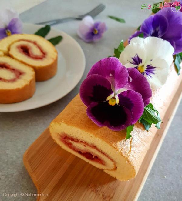 کیک رولت سوئیسی