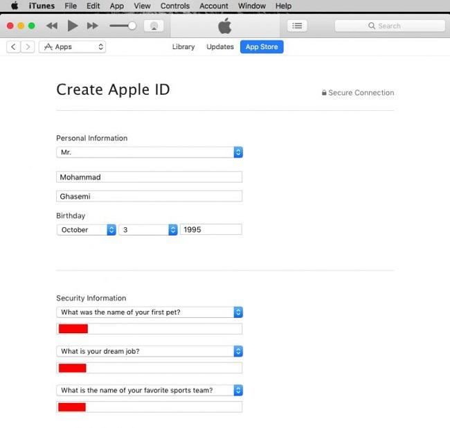53 آموزش ساخت اپل آیدی رایگان 2019 : چگونه Apple ID بسازیم ؟
