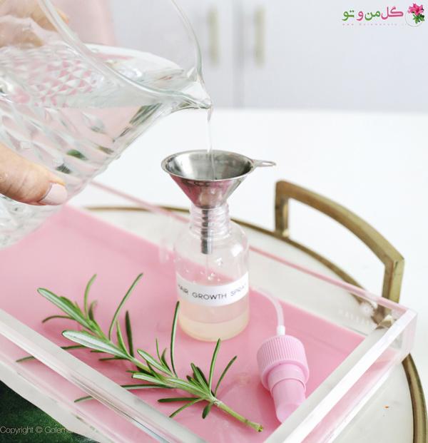 اضافه کردن آب به محلول