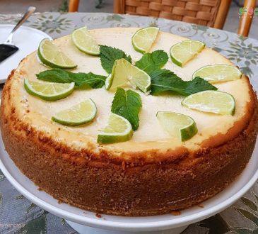 طرز تهیه چیز کیک لیمویی
