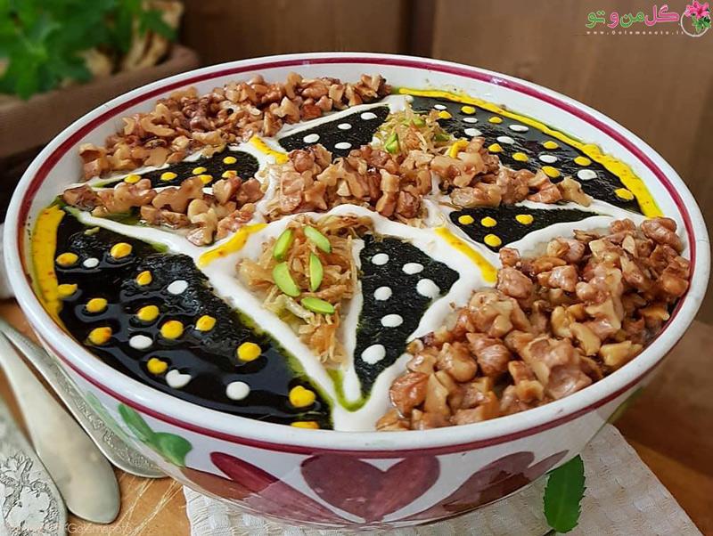 طرز تهیه حلیم بادمجان با برنج