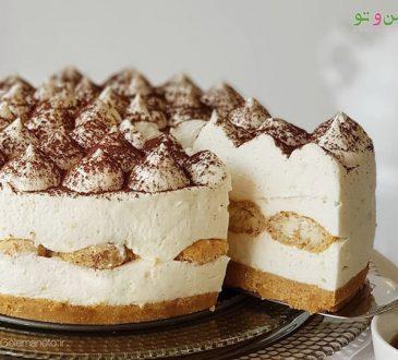 طرز تهیه کیک تیرامیسو