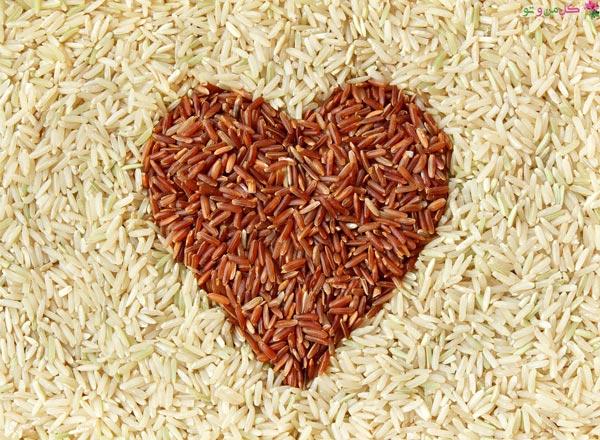 فواید برنج برای سلامت قلب