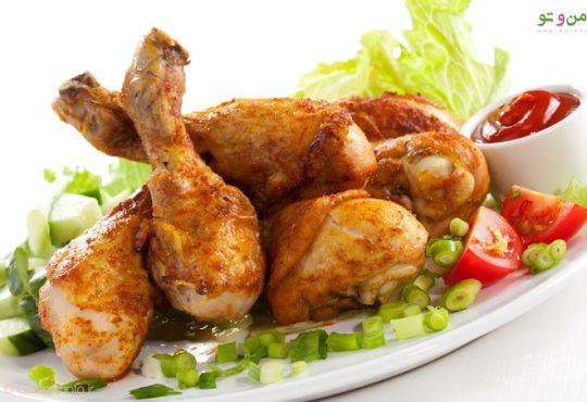10 غذای جذاب و خوشمزه با مرغ
