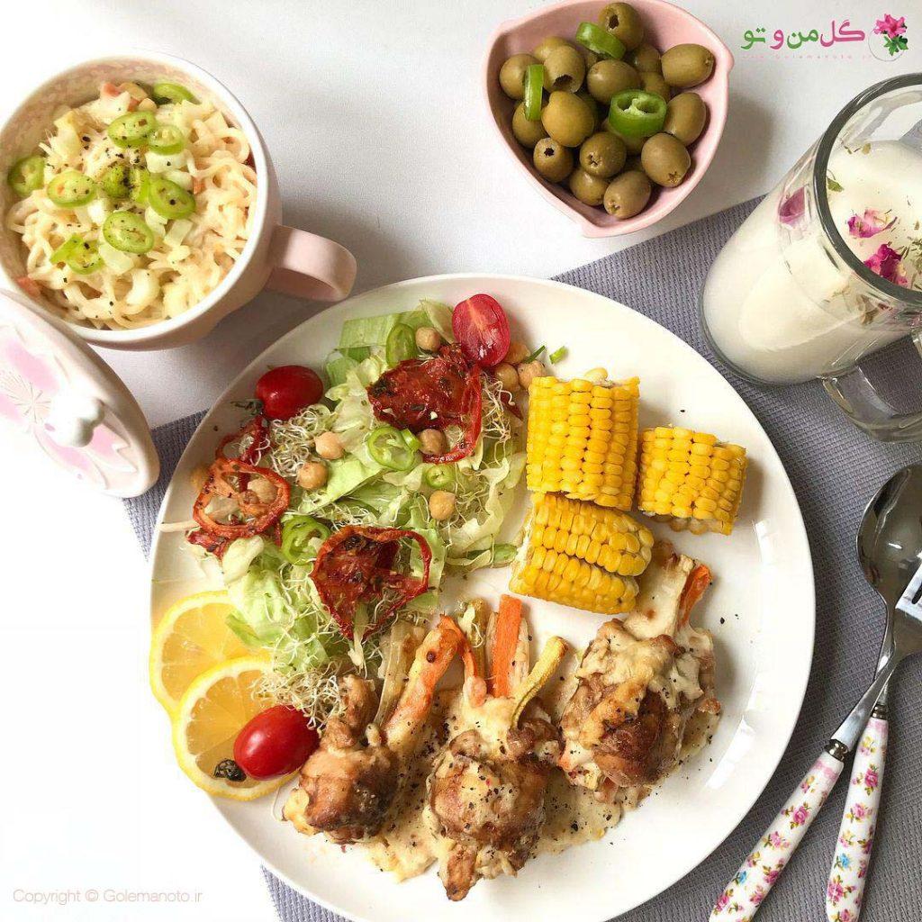 بالتون مرغ - غذاهای جدید و خوشمزه با مرغ