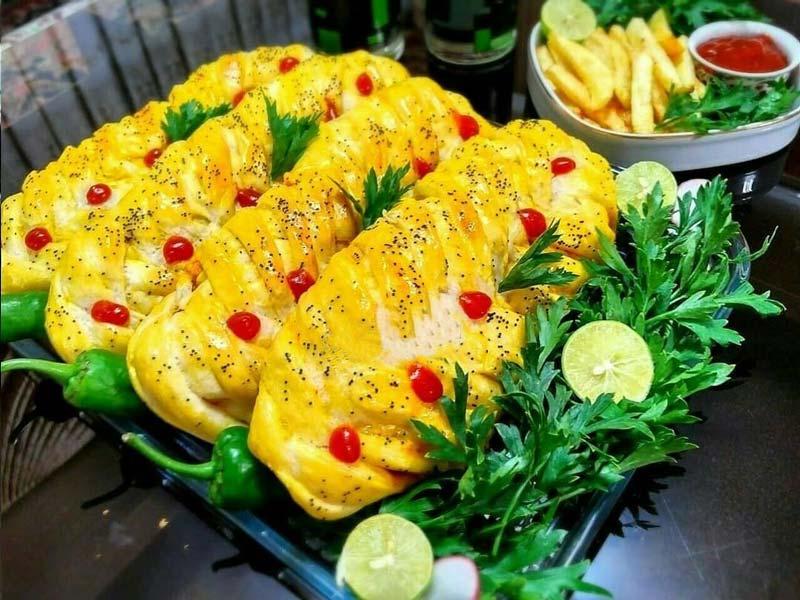 غذاهای جدید و خوشمزه با مرغ