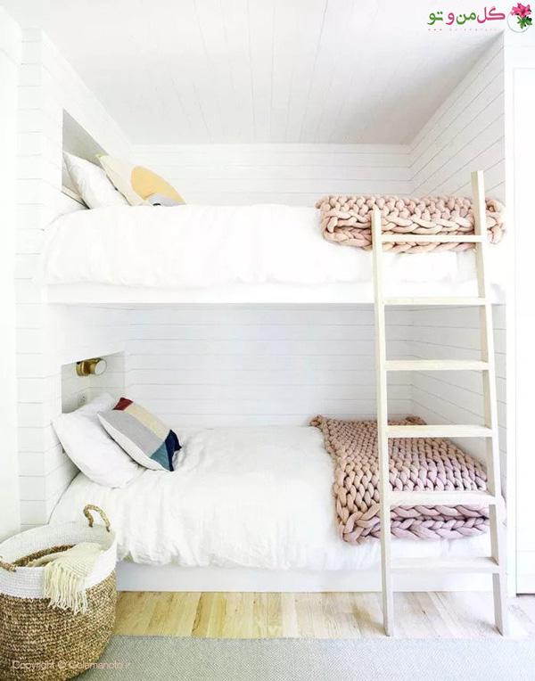 استفاده از تخواب دو طبقه