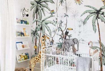 تم حیوانات برای اتاق نوزاد