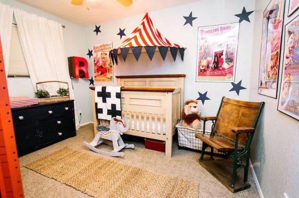 انتخاب تم سیرک برای اتاق نوزاد