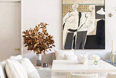رنگآمیزی اتاق نشیمن