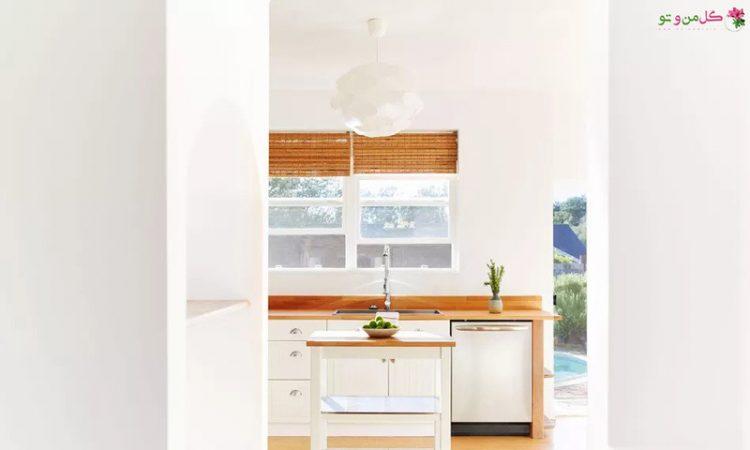 نمونه های میز جزیره سیار آشپزخانه