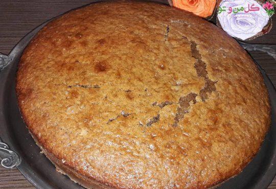 طرز تهیه کیک هویچ و گردو برای نوزاد