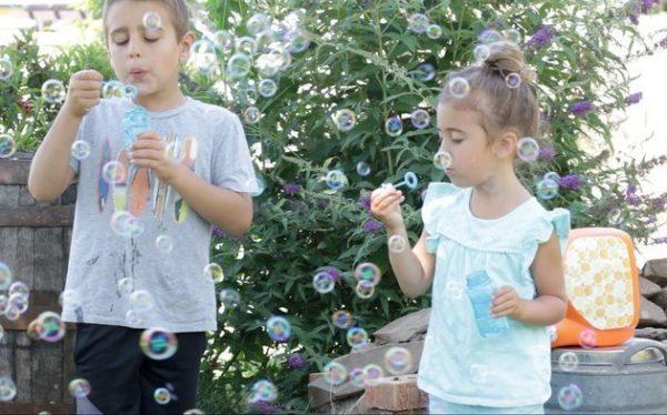 ساخت دستگاه حبابساز برای کودکان
