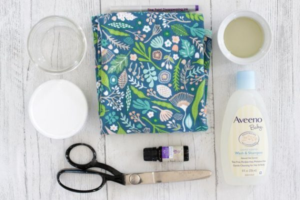 مواد لازم برای ساخت پد شستشوی صورت
