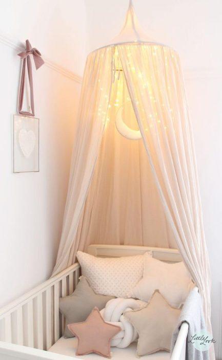 مدل اتاق نوزاد دختر مینیمالیست
