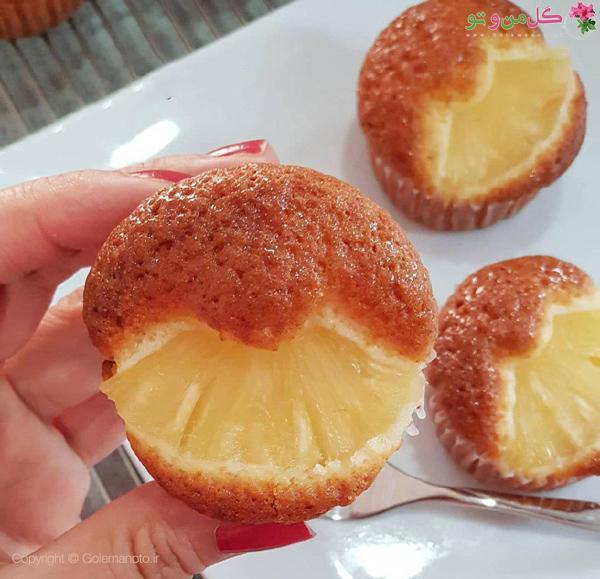 پای آناناس خانگی