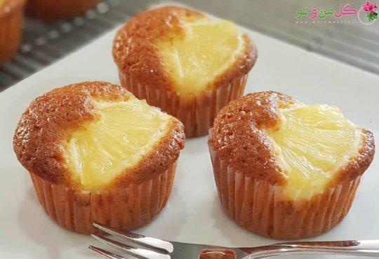طرز تهیه پای آناناس خانگی