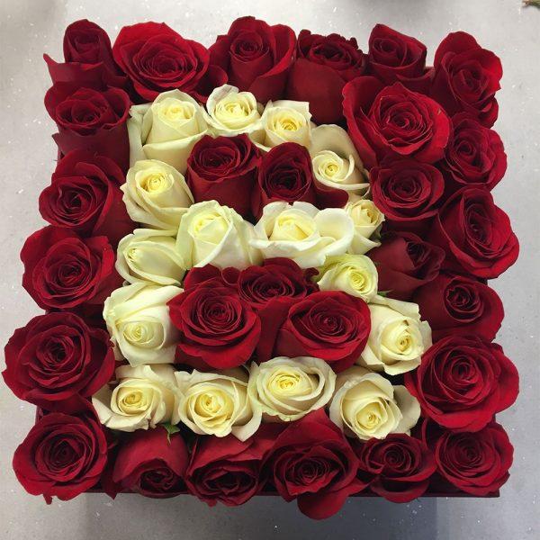 گل رز برای هدیه دادن