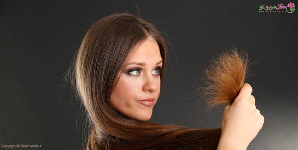 مراقبت از موهای دکلره شده - کوتاه کردن انتهای مو