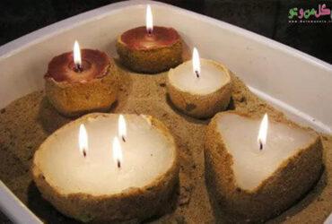 ساخت شمع شنی