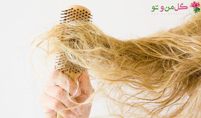مراقبت از موی دکلره شده آسیب دیده