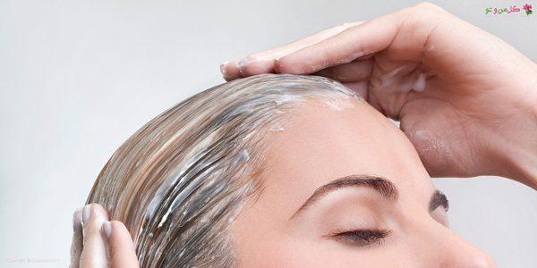 استفاده از ماسک برای موها