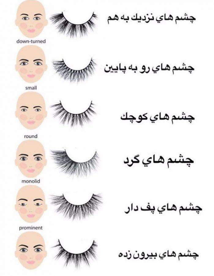 انتخاب مژه مصنوعی مناسب چشمانتان