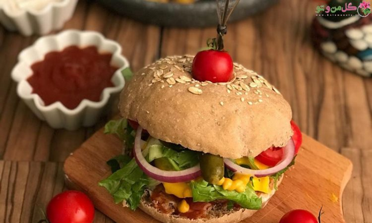 طرز تهیه همبرگر خانگی با گوشت