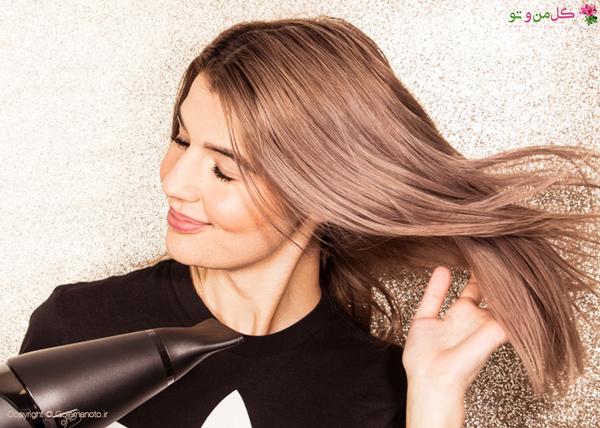 ضرر سشوار برای مو و مغز