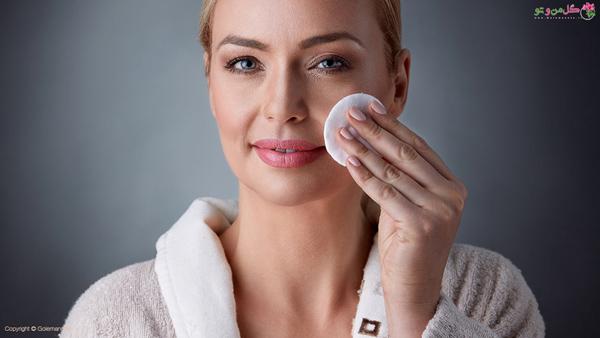روتین پوست شبانه - پاک کردن آرایش