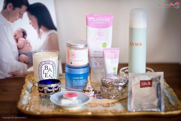 مراقبت از پوست زنان باردار - استفاده از وسایل آرایشی