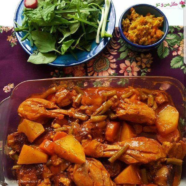 تاس کباب : غذاهای نونی برای مهمانی